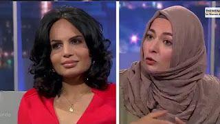 #Video [21:34] #Islamaufklärung Die Ex-Muslima, Menschenrechtlerin und Islamkritikerin #Sabatina_James diskutiert mit Khola Maryam Hübsch 1.10.2015