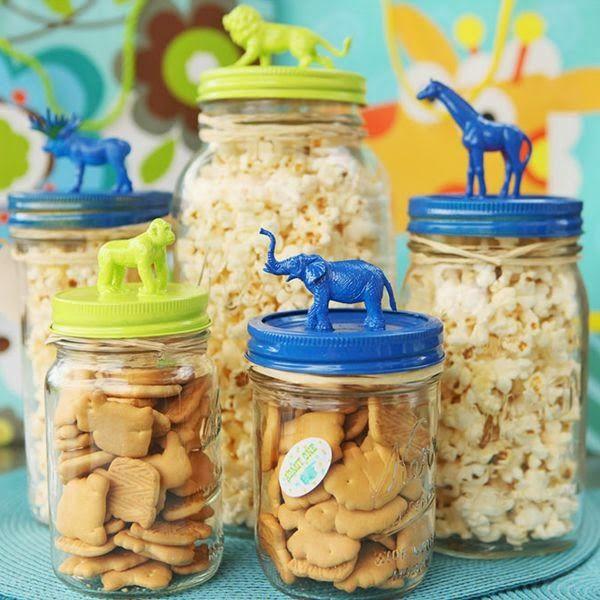 12 ideias para reaproveitar vidros de compotas, palmitos, etc...