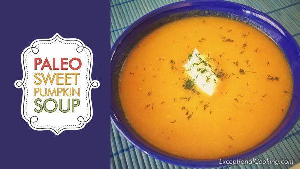 Exceptional Gluten Free Sweet Pumpkin Soup