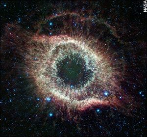 The Helix nebula, also known as the Eye of God