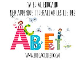 Educació i les TIC: Material educatiu per aprendre i treballar les lletres