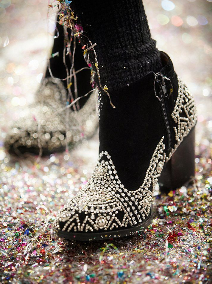 Jeffrey Campbell After Dark Ankle Boot at Free People Clothing Boutique