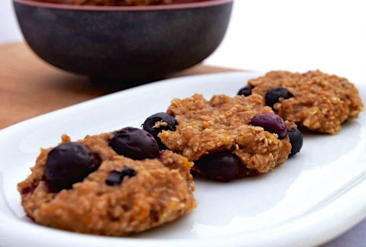 Chewy havermout fruitkoekjes