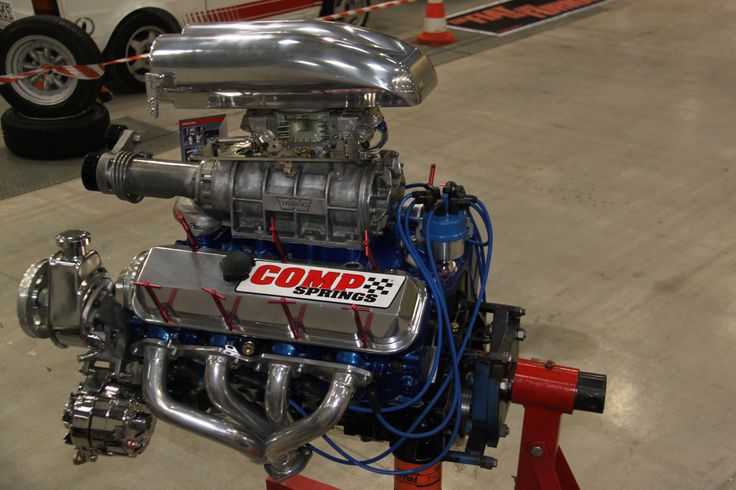 CHEVY V8 supercharger blower