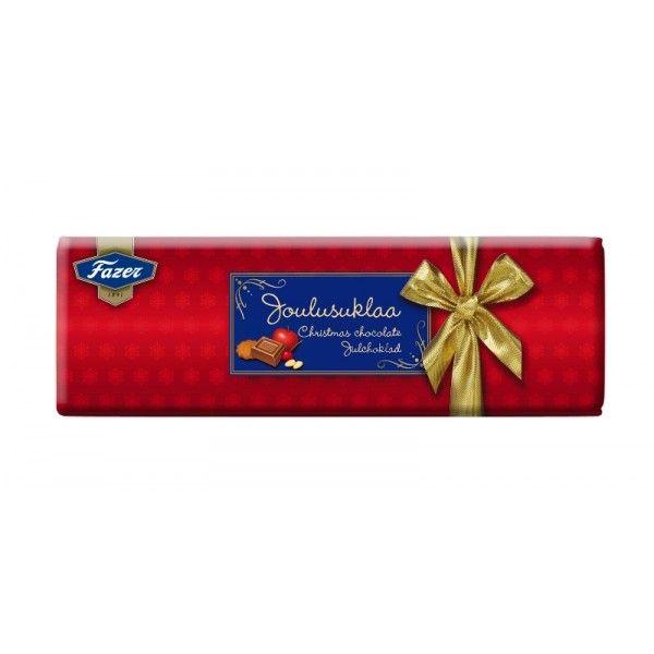 Karl Fazer - Joulusuklaa - Christmas Chocolate