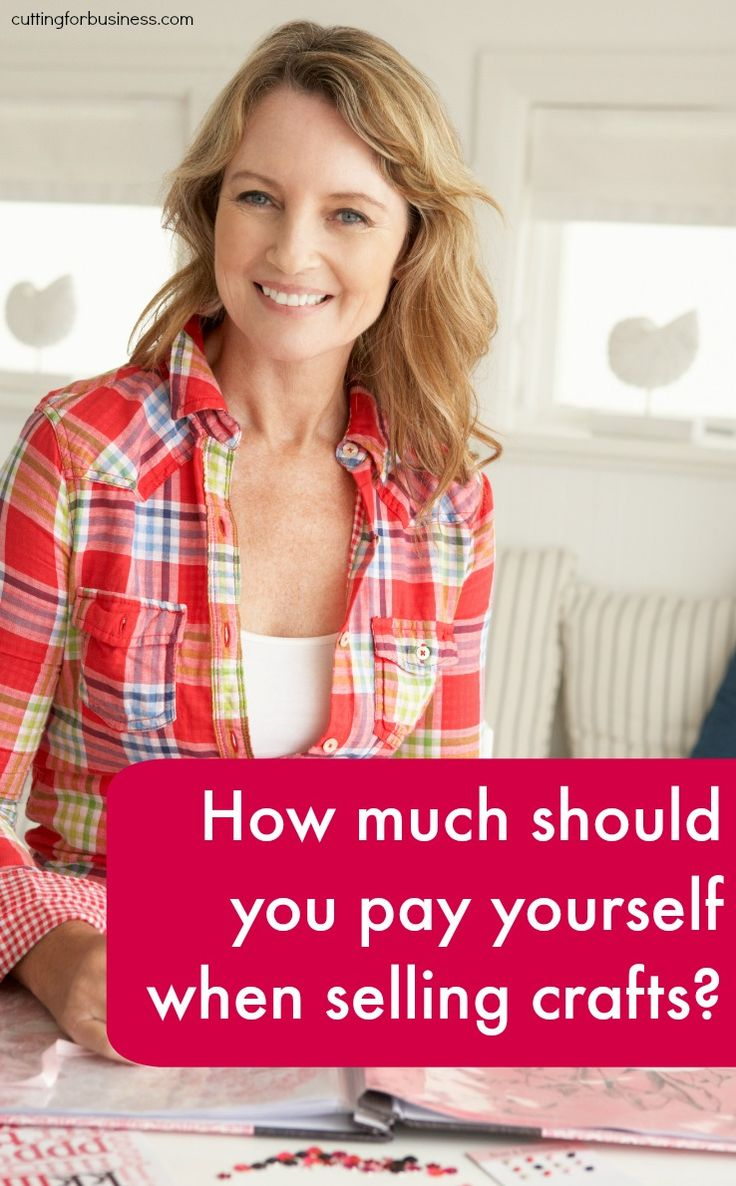 How much to pay yourself in your craft business