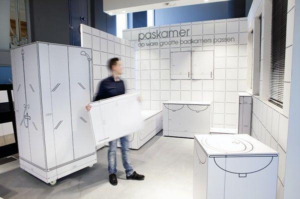 kleine badkamer inrichten met een afmeting van1.45 bij 1.40  Badkamer ...