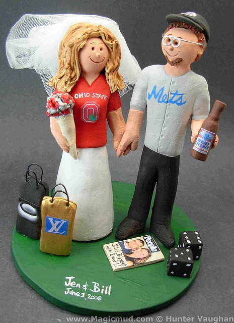 Different State Cake Topper