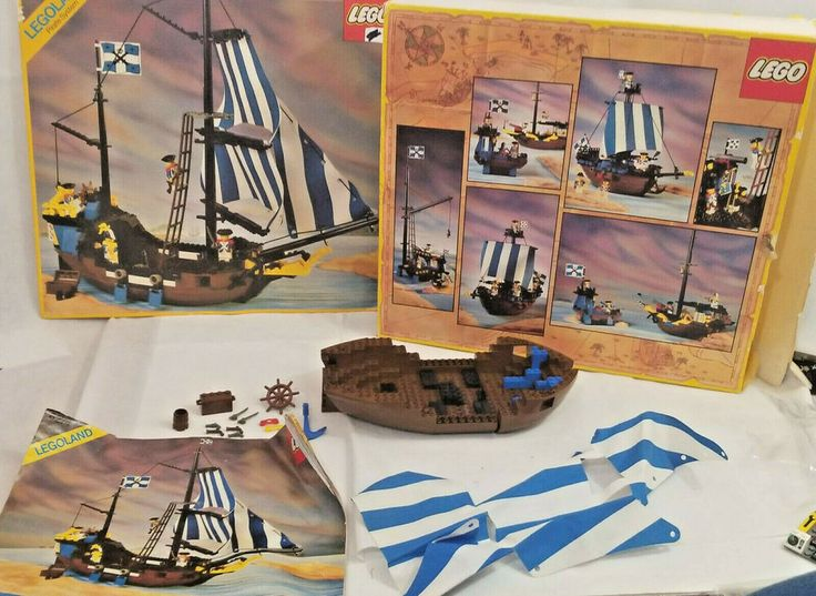 LEGO system 1989 Pirates Caribbean Clipper set 6274
