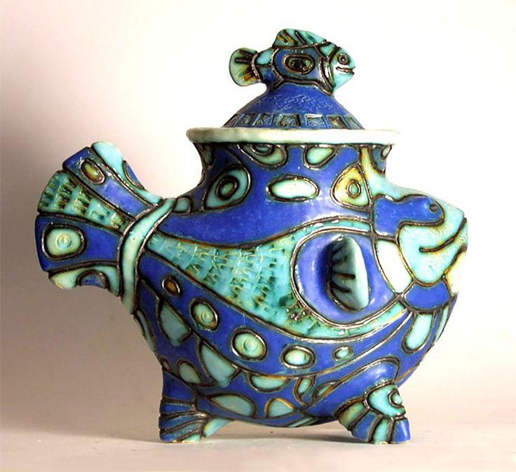 Работы преподавателя проекта Д.Хохловкина | «Байкал-Арт» летняя школа керамики и живописи