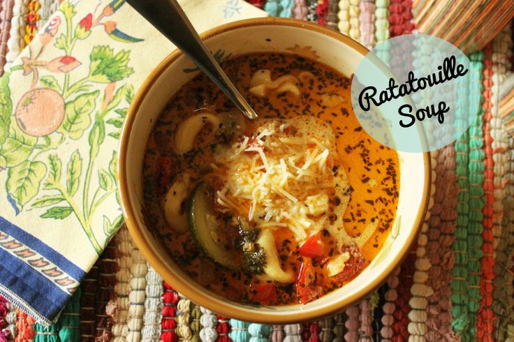 Ratatouille Soup Recipes — Dishmaps