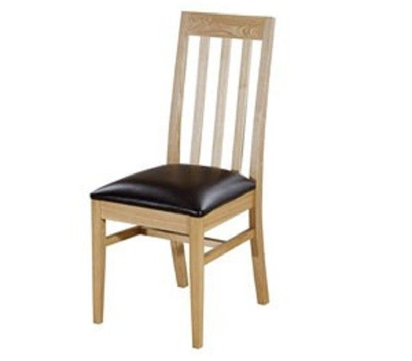 Pair of #Chesterfield Ash Slat Back #Wooden Dining #Chair £168.30