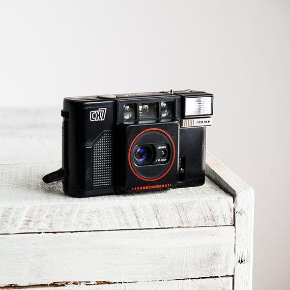 Cosina CX7 Rare functional vintage 35mm film analog by FolkCamera