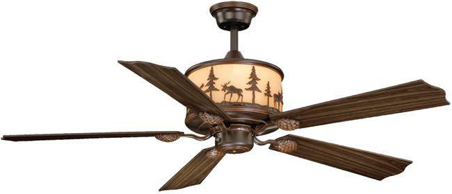 Black Forest Decor Vxf0011 Yosemite Forest Ceiling Fan Rustic
