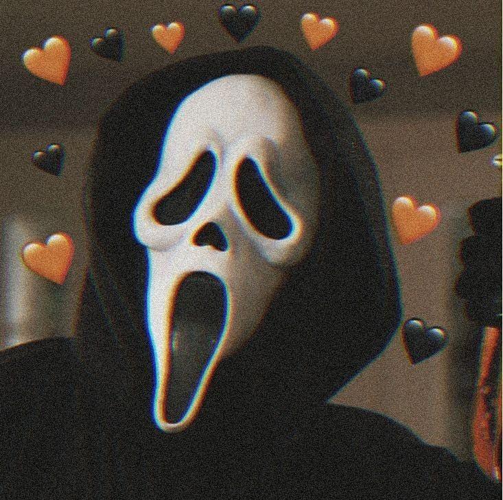 Halloween Aesthetic Scary Orange معلومة جديدة كل يوم مع سوما Ghost Faces Horror Movie Icons Halloween Profile Pics