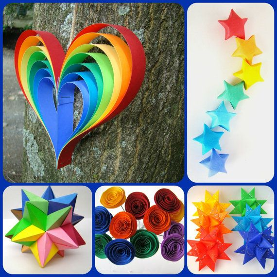 Rainbow Party Set - Decor for Art Party, Rainbow Party, Weddings and more