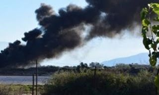 Πανικός επικράτησε στο αεροδρόμιο Χανίων και συγκεκριμένα στον τομέα που είναι τα στρατιωτικά αεροσκάφη, όταν πολεμικό αεροσκάφος τύπου F16 της 115ΠΜ, λίγο πριν της τέσσερις το
