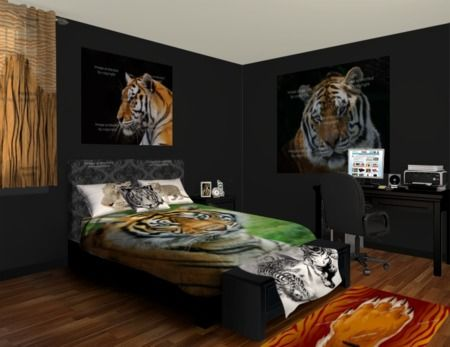 Tiger Wall Murals, Let The Jungle Roar Into Your Room. Checkout Our Tiger  Designs Part 45