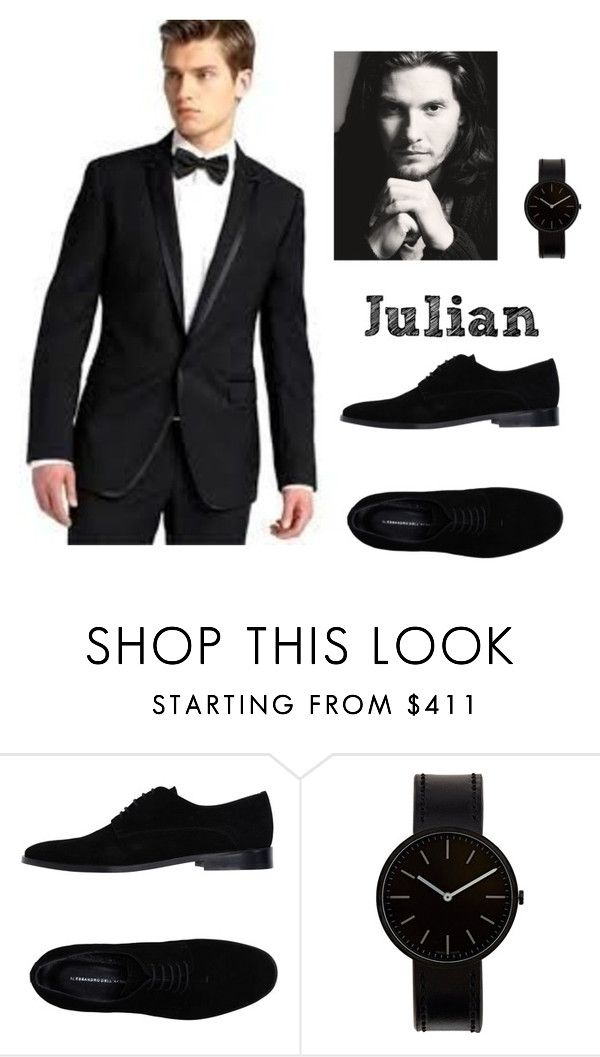 """""""Lírios Brancos"""" by lalla-amaral on Polyvore featuring Alessandro Dell'Acqua, Uniform Wares, mens, men, men's wear, mens wear, male, mens clothing and mens fashion"""