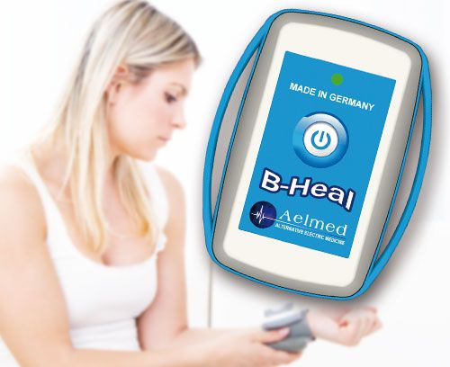 B-heal Blood Zapper Blood zappers are intended to reach bacteria, parasites and viruses in the bloodstream and if possible destroy them.