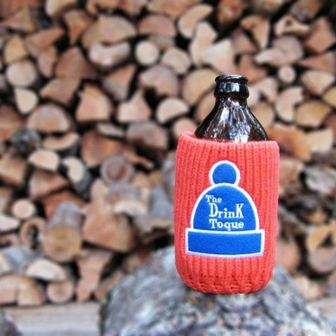 The Drink Toque - The Drink Toque  Classic, vintage-style, knit koozie. Iconically Canadian.