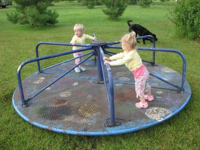 So much fun... Sad that most playgrounds don't have these anymore.