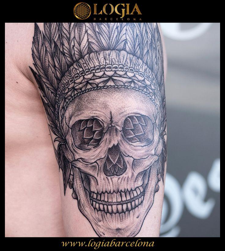 Φ Artist MIGUEL WOM Φ Info & Citas: (+34) 93 2506168 - Email: Info@logiabarcelo... www.logiabarcelon... #logiabarcelona #logiatattoo #tatuajes #tattoo #tatuador #tattooink #tattoolife #tattooworld #tattoobarcelona  #tattoosenbarcelona #ink #artisttattoo #inked #inktattoo #skull #calavera
