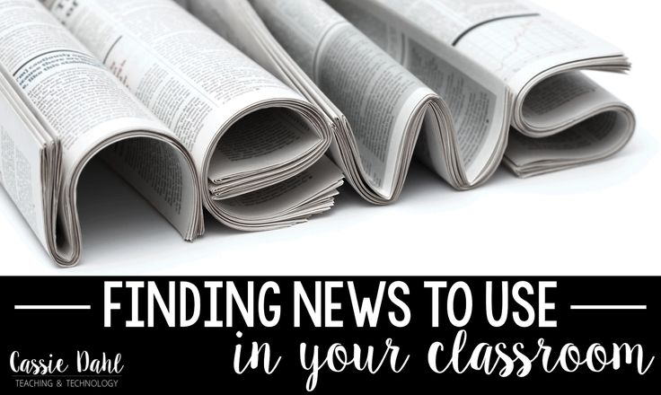 Finding News to Use in your Classroom