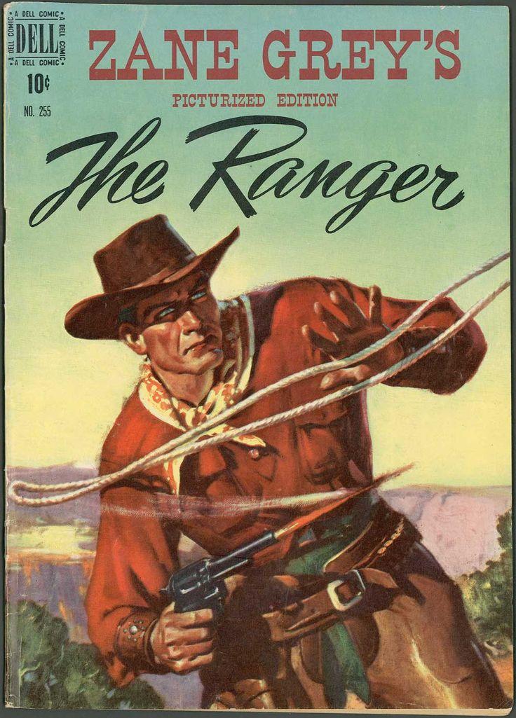 THE RANGER - Zane Grey's Picturized Edition - Dell Comics
