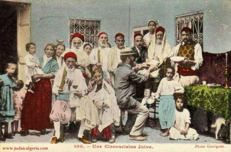 alger-Circoncision juive
