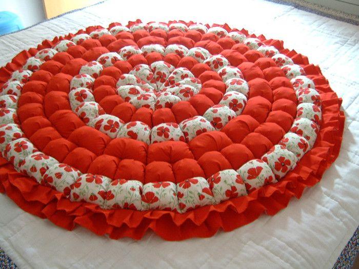Объемный коврик своими руками фото 868