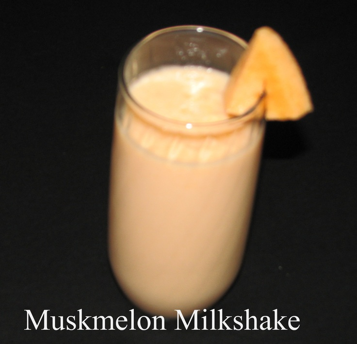 Cantaloupe milkshake are good for helping you full as they are packed with fiber and water. this is one of my favorite and easy drinks to make .