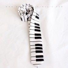 Piano Slim Tie