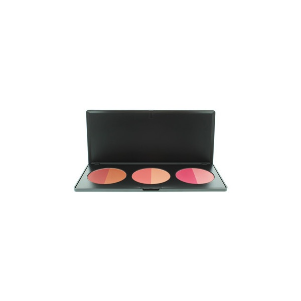 BH Cosmetics Duo Blush Palette (380 RUB) found on Polyvore