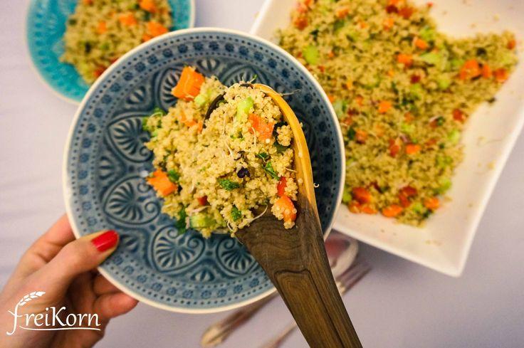 glutenfreier Quinoa Salat