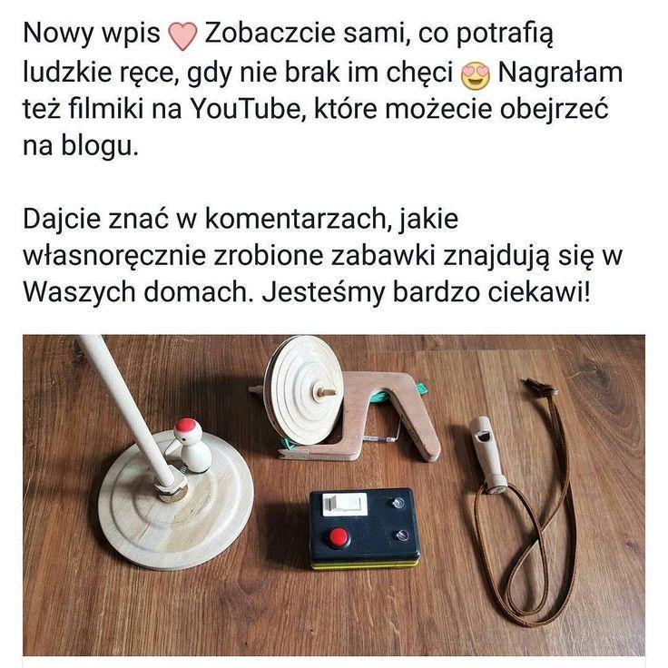 Na blogu nowy wpis  Zabawki własnoręcznie zrobione przez Dziadka Kakaludka. Czy w Waszych rodzinach też panuje taka tradycja a panowie potrafią stworzyć coś z niczego? Dajcie nam znać jakie zabawki robią Wasi tatusiowie lub dziadkowie  #kakaludek #dziadek #kakaludka #dziadekkakaludka #zabawki #drewniane #ludowe #polskie #rękodzieło #dzięcioł #bączek #gwizdek #brzęczyk #poznań #polska #blog #parentingowy #wordpress