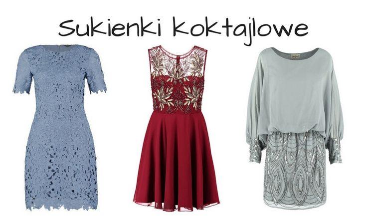 Sukienka koktajlowa - TOP 25 najmodniejszych | fitandfashion.pl