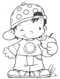 coloriage petit garon coloriage mariage coloriage enfants dessin pour garon la la pomme pommes pour enfants tirer