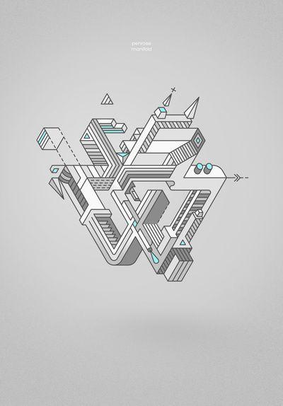 Penrose Triangle Inspiration
