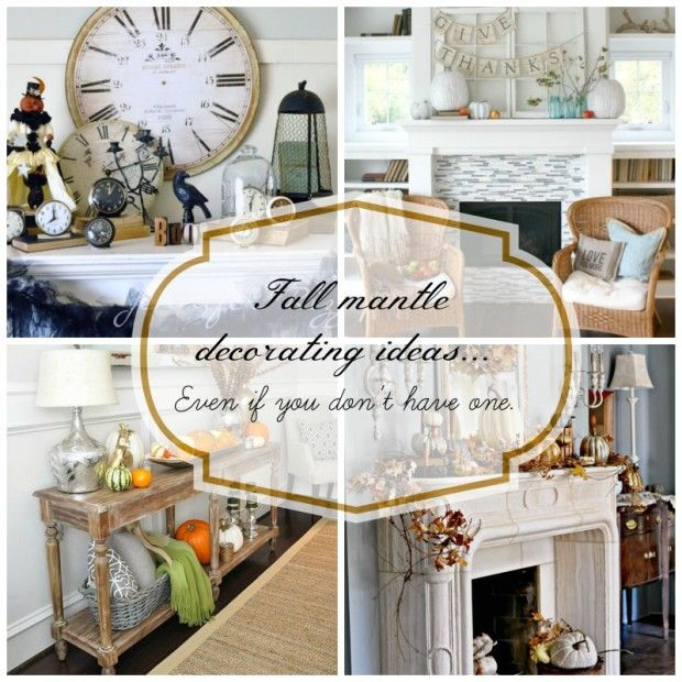 40 delightful diy fall mantel decoration ideas - Fall Mantle Decorating Ideas Jennifer Rizzo Mantel