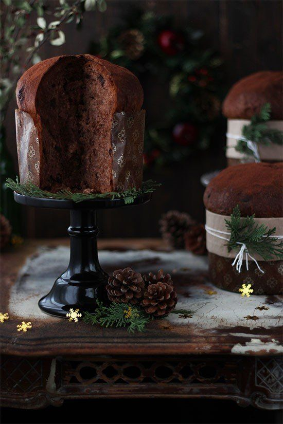 Receta panettone de chocolate paso a paso - Megasilvita