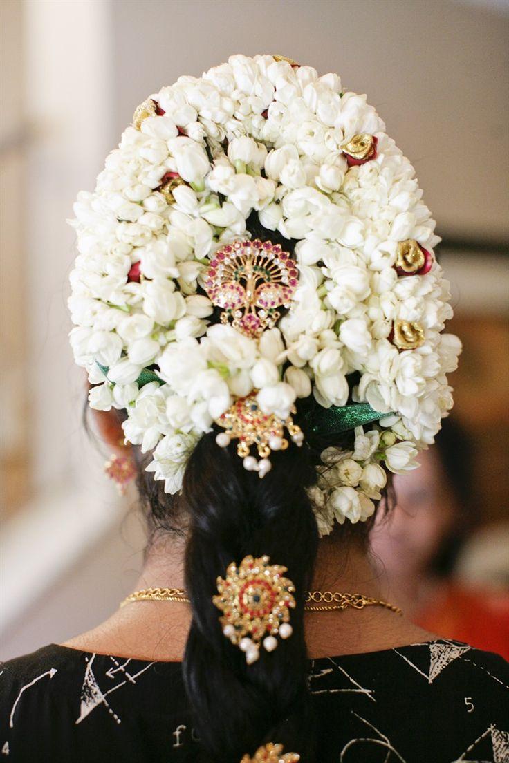 17 best jasmine images on pinterest flower market indian bangles braid with fresh jasmine flowers and jewels south indian bride kannada bride malayalee izmirmasajfo Gallery