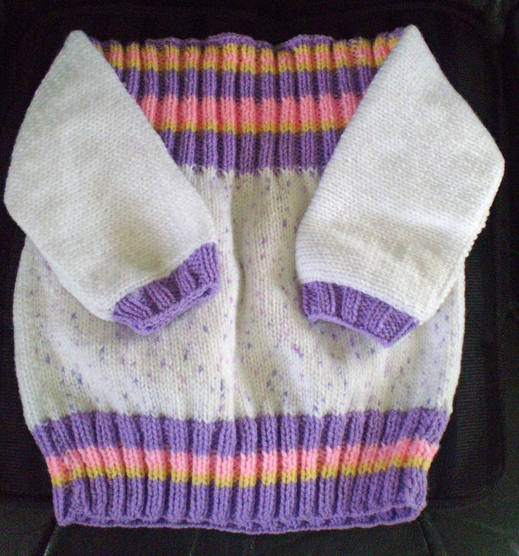 Another variation on the 'fish & chips' jumper for charity