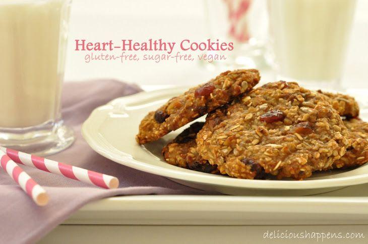 Gluten Free Oatmeal Cookies Recipe Desserts with gluten-free oats, bananas, applesauce, clover honey, pure vanilla extract, dried cranberries, sunflower seeds, walnuts, kosher salt