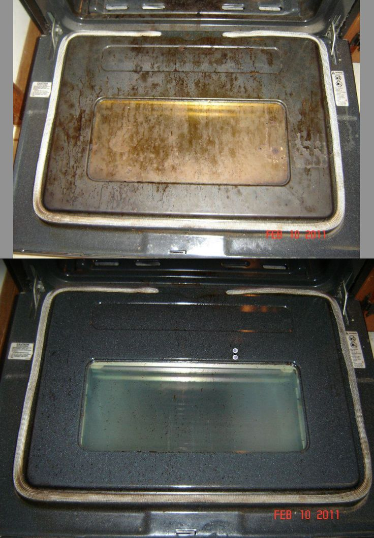 Norwex Oven & Grill Cleaner and a spirisponge or wet ...