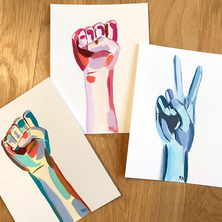 Peace fingers and equality fists added to my shop to commemorate the Women's Marches ✌🏻✊🏻✌🏻✊🏻