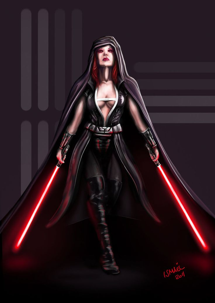 Sith Lord by ismaelArt if this could be made a reality, I would adore it. Perhaps slightly more closed in the front if I were to wear it for real, for practical purposes.