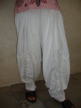 Patiala Salwar - Lace Work - direct from Patiala City !!