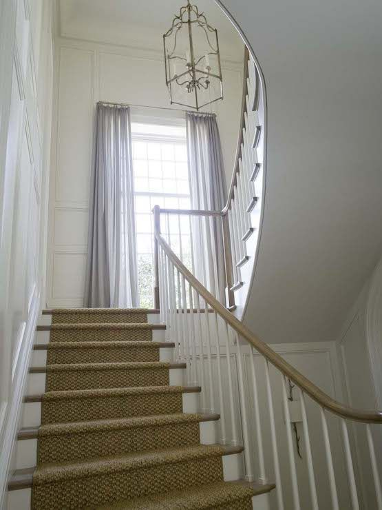 Runner staircase pinterest window treatments for 12 x 72 window
