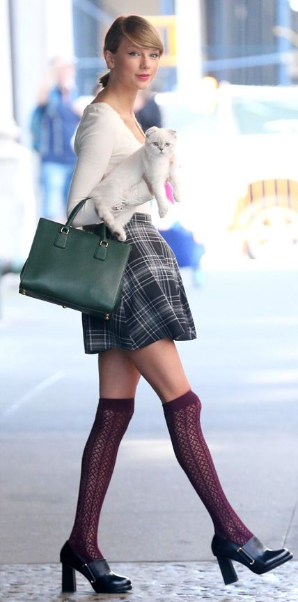 66 Reasons Why Taylor Swift Is a Street Style Pro - September 16, 2014 from #InStyle